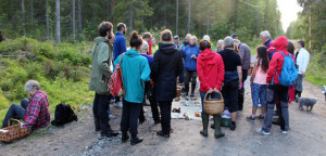 Svamputflykt Segersjön 150806